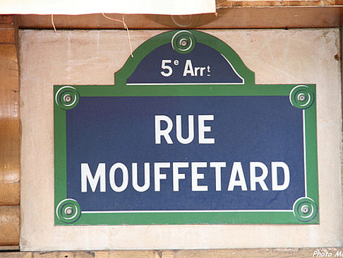 Rue Mouffetard - Ile de France - Paris (Paris)