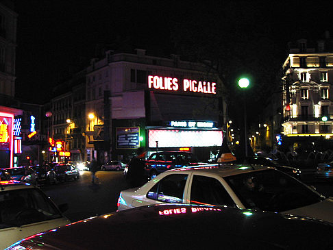 Fotos Place Pigalle bei Nacht | Paris